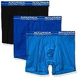 Nautica Pack de 3 calzoncillos tipo bóxer para hombre - azul - Small