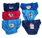 Patrulla Canina - Lote de 6 Slip infantil de la Patrulla Canina Multicolor 2-3 años