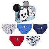 CERDÁ LIFE'S LITTLE MOMENTS 2200007392_T0102-C81 Pack Calzoncillos Niño de Mickey con Licencia Oficial Disney, Multicolor, 1 año para Niños