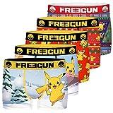 Freegun Lot De 3 Boxer Garcon pokemon Pantalones, Multicolor (Multicolor G1), 14-15 años (Talla del fabricante: 14/16) (Pack de 5) para Niños