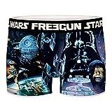 FREEGUN Star Wars Boxer WARS-microfibra-92% poliéster, 8% Elastano, Unitario Hombre T659-1, L