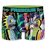 Freegun RICK AND MORTY Talla M MORTY-FREEGUN-Multicolor-92% poliéster 8% elastano, Boxer Unitario T601-1, Hombre