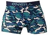 O'Neill Calzoncillos tipo bóxer para hombre, línea básica, juego de 2, para cada día (camuflaje, azul, S)