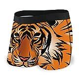 BathWang - Calzoncillos para hombre, diseño de tigre de bengala