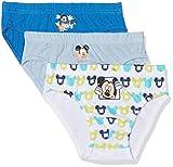 Disney Mickey Mouse Calzoncillos (Pack de 3), Multicolor, 6-7 Años para Niños
