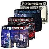 FREEGUN Boxer FG/1/BM/PK4 Ropa Interior, 96, L para Hombre