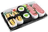 Rainbow Socks - Mujer Hombre Calcetines Sushi Tamago Salmón Maki de Pepino - 3 Pares - Tamaño 41-46