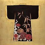Feeling at home LIENZO-con-AMERICANO-BOX-Gilded-Kimono-Fisk-Arnie-Decorativo-Fine-Art-print-on-wood-frame-Square-20x20_in