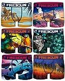 Freegun - Lote de 6 bóxers de microfibra para hombre, Serie 12, M