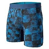 Stance Grim Check - Calzoncillos Tipo bóxer - Azul Marino - XL (40/42' Cintura)