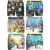 FREEGUN 88893 Ropa Interior, Multicolor, 14-16 (Pack de 3) para Niños