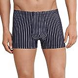 Schiesser Shorts Bxer, Azul (Dunkelblau 803), XX-Large para Hombre