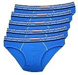 Reedic Calzoncillos Modal para hombre, 5 unidades Je 5x Blau XXXL