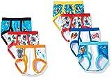 Disney Boys' Toddler Puppy Pals 7-Pack Underwear Briefs