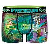 Freegun RICK AND MORTY Talla S MORTY-FREEGUN-Multicolor-92% poliéster 8% elastano, Boxer Unitario T604-1, Hombre