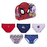 CERDÁ LIFE'S LITTLE MOMENTS 2200007407_410-C81 Pack Calzoncillos Niño de Spiderman con Licencia Oficial Marvel, Multicolor, Talla 04-05 para Niños
