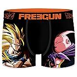 FREEGUN Bóxer para Hombre Dragon Ball Z (S, Goku Vs Boo)
