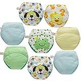 Skhls Calzones de Entrenamiento niño Estilo Mixto Paquete de 8 Calzoncillos niño, 2 años
