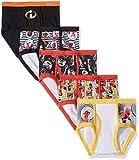 Disney Increíbles calzoncillos de ropa interior para niños Pack de 5 6 Increíbles Niños