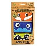 Zoocchini Set de 3boxers para niño naranja 4–5años
