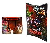 Marvel Avengers - Calzoncillos con bolsa de regalo, colección oficial Freegun multicolor 14-16 años