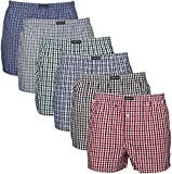 Lower East American Style, Bóxer, Hombre (Pack de 6), Multicolor, Medium