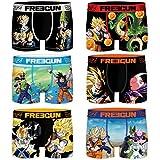 Freegun Pack 3pcs Dragon Ball Z Talla S, Surtido 6pcs Infantil Pk1235, Hombre