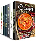 Cook and Relax Box Set (6 in 1): Over 190 Stress-Free and Healthy Crockpot, One Pan, 5-Ingredient, Vegetarian and Vegan Dishes to Save Your Time (Stress-Free Meals) (English Edition)