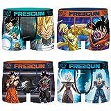 Freegun - Calzoncillos para niño, diseño de dragón Pack de 4 Fusion 14-16 años