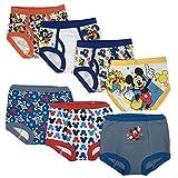 Disney Boys' Toddler Mickey 3pk Training Pants & 4pk Briefs