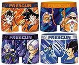 Freegun Dragon Ball Z - Calzoncillos para hombre (4 unidades) Ass2. S